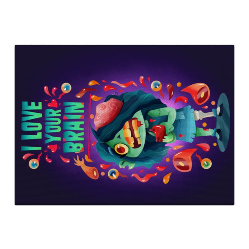 Printio Холст 40×55 Милашка зомби