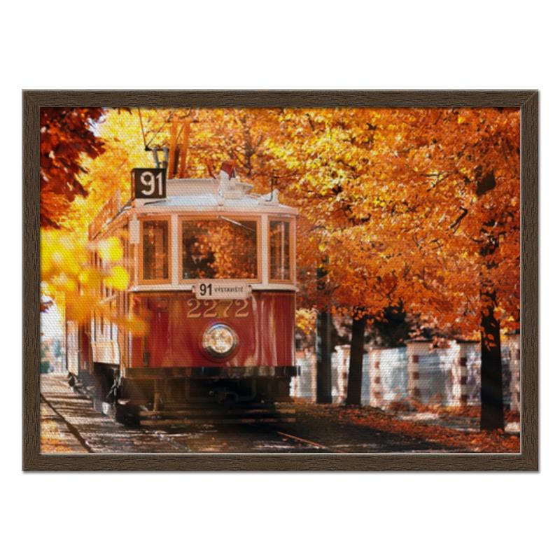 Printio Холст 40×55 Пражская осень