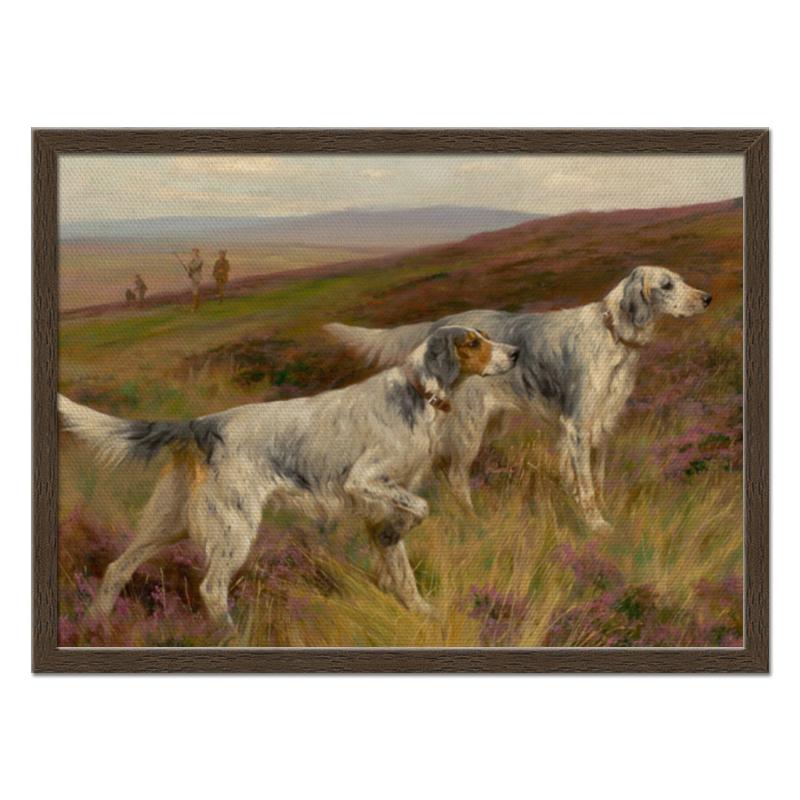 Фото - Printio Холст 40×55 Охота с собаками printio холст 40×55 охота с собаками