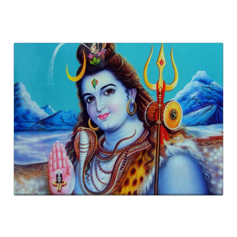 printio shiva шива Printio Холст 40×55 Shiva (шива)