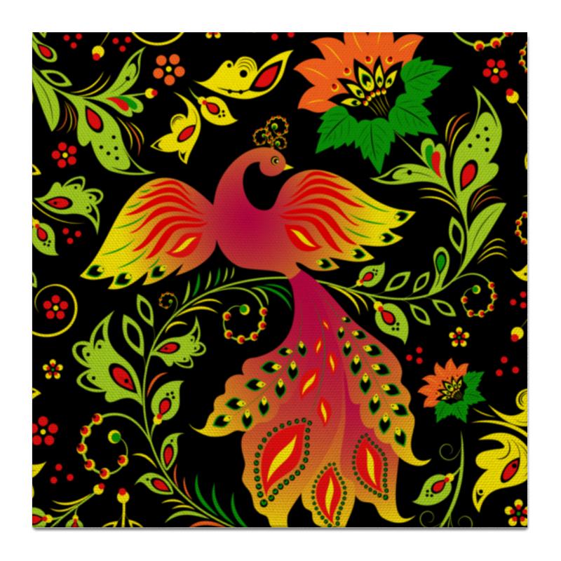 Printio Холст 50×50 Жар - птица