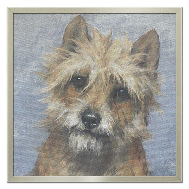 Printio Холст 50×50 Портрет собаки