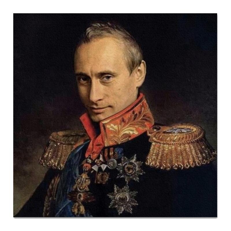 printio холст 50×50 fg345gh Printio Холст 50×50 Putin