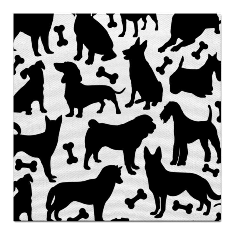 Printio Холст 50×50 Собаки