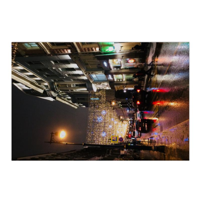 Printio Холст 50×75 Праздничная москва