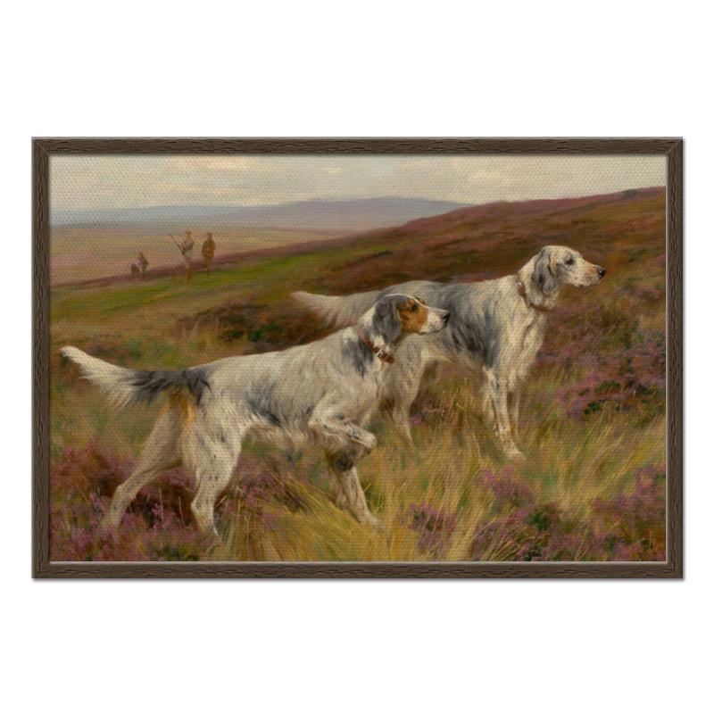 Фото - Printio Холст 50×75 Охота с собаками printio холст 40×55 охота с собаками