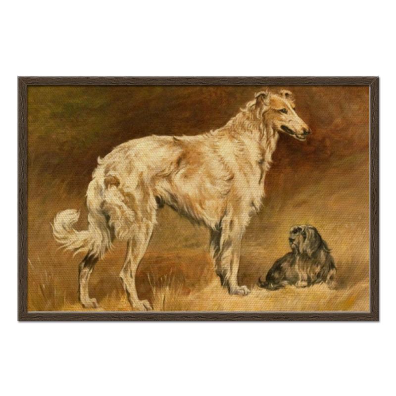 Printio Холст 50×75 Собаки