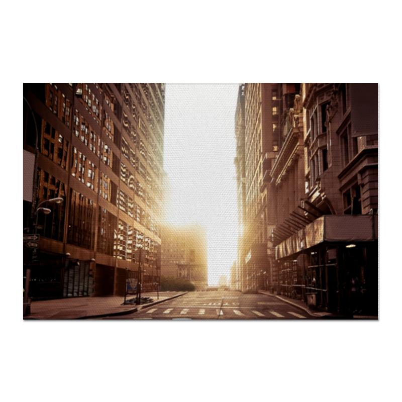 Printio Холст 60×90 Утренний урбан