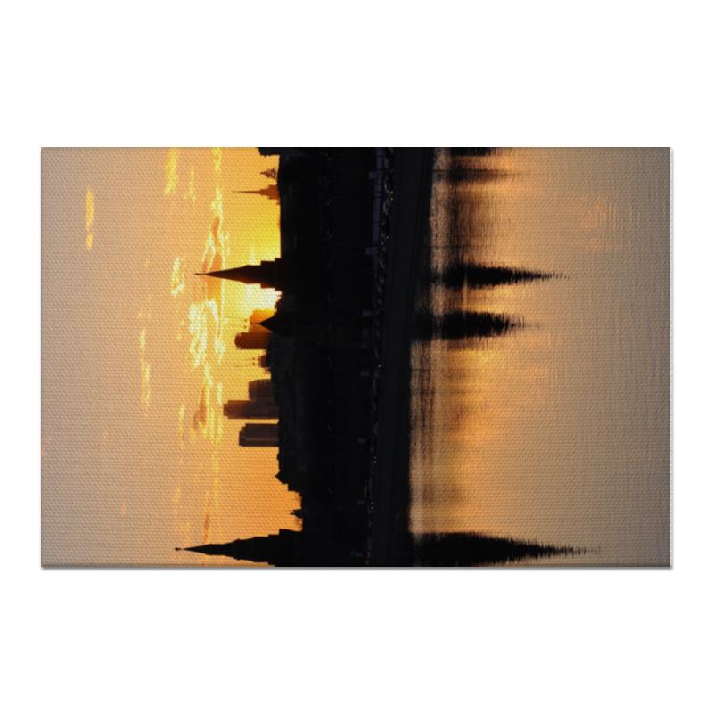 Printio Холст 60×90 Московский закат недорого