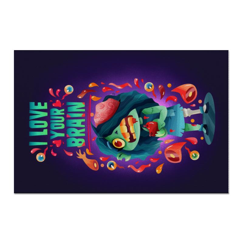 Printio Холст 60×90 Милашка зомби