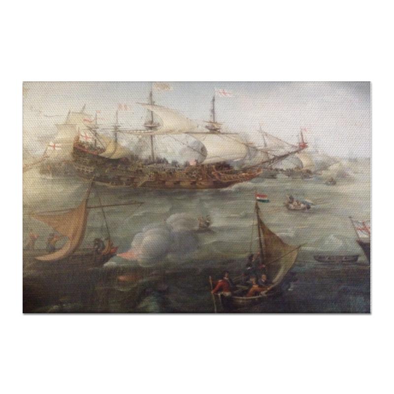 Printio Холст 60×90 Морской бой