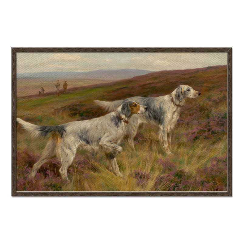 Фото - Printio Холст 60×90 Охота с собаками printio холст 40×55 охота с собаками