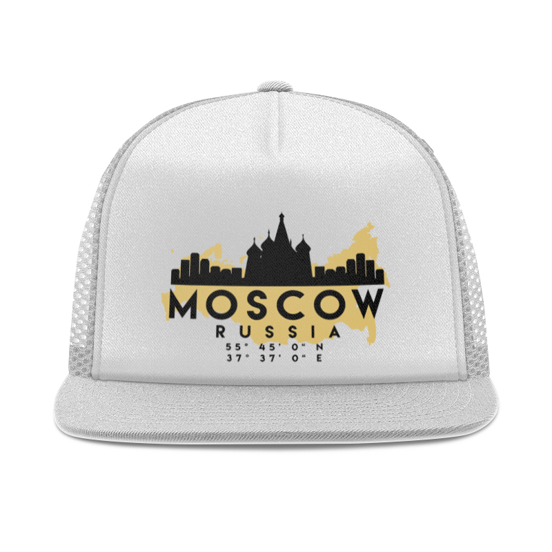 Printio Кепка тракер с сеткой Москва (россия)