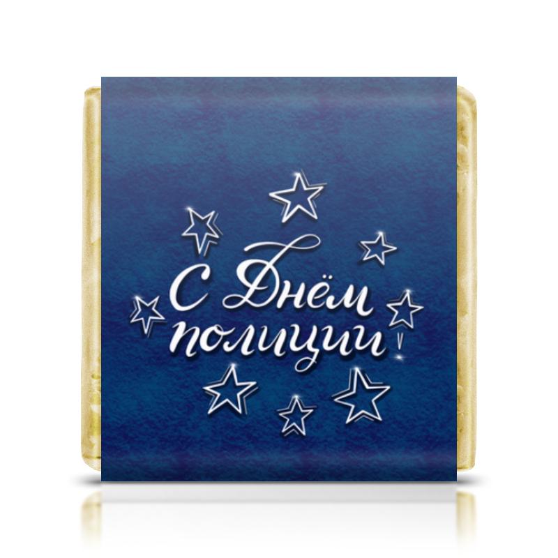 Printio Шоколадка 3,5×3,5 см День полиции
