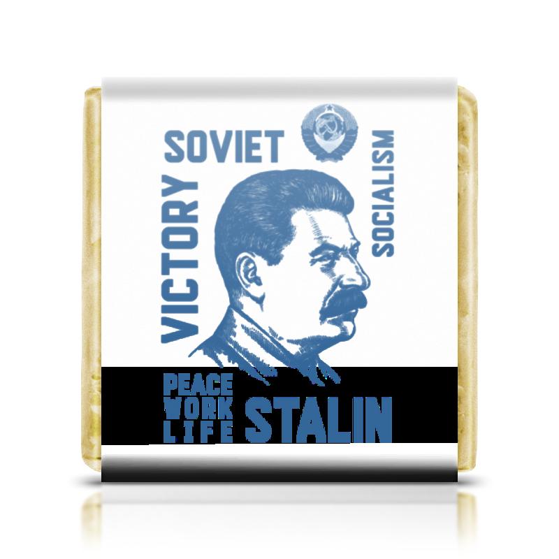 Printio Шоколадка 3,5×3,5 см Сталин