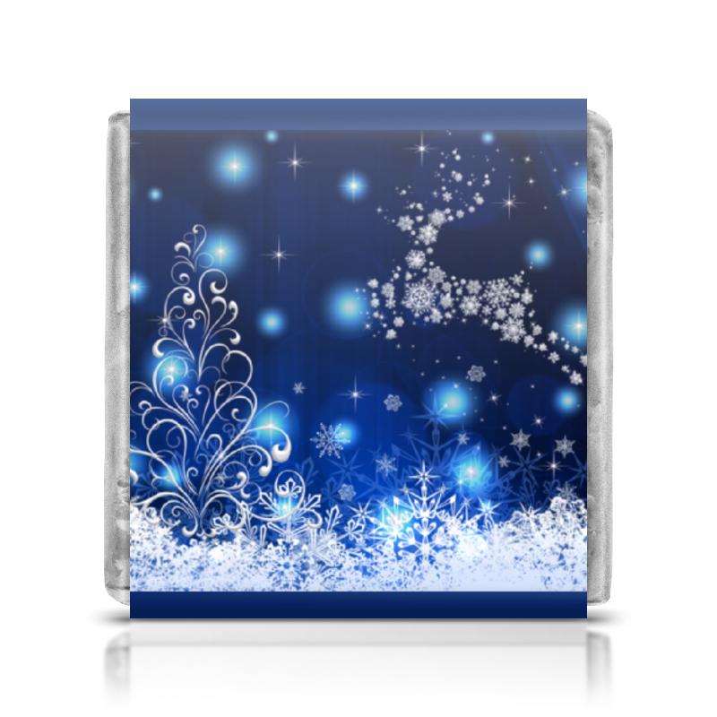 Printio Шоколадка 3,5×3,5 см Новогодняя