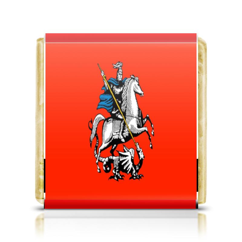 Printio Шоколадка 3,5×3,5 см Герб москвы
