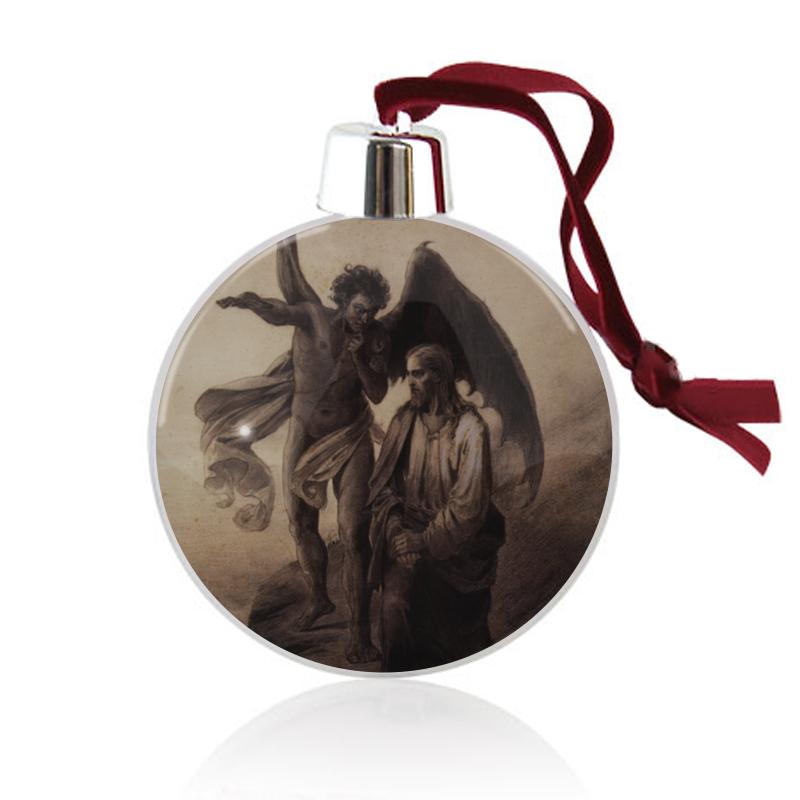 Printio Ёлочный шар Искушение христа (василий суриков)