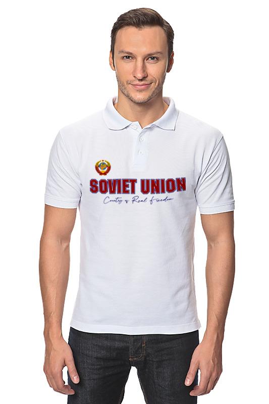 Printio Рубашка Поло Ссср - страна настоящей свободы