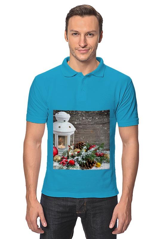 Printio Рубашка Поло Christmas