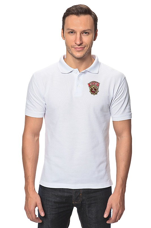 Printio Рубашка Поло Будь готов к труду и обороне