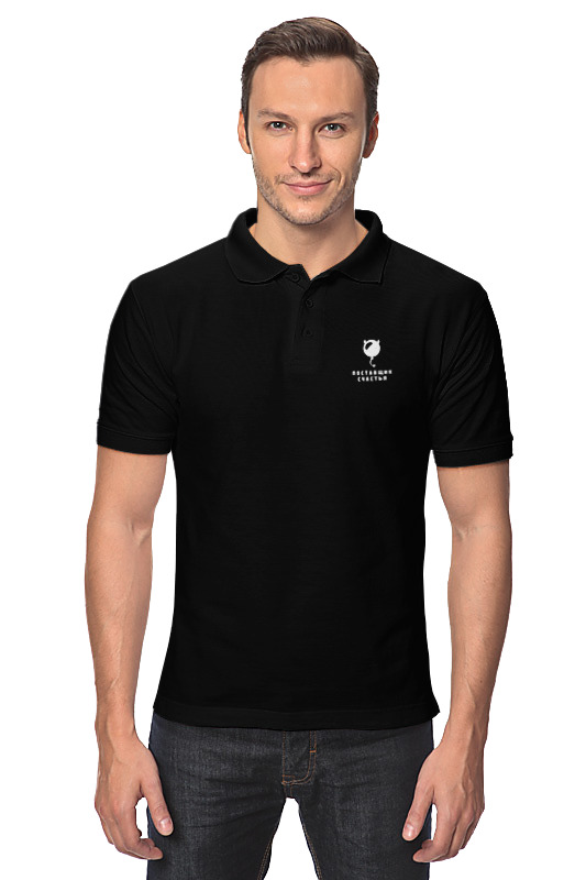 Printio Рубашка Поло Дропшиппинг-сила+пс