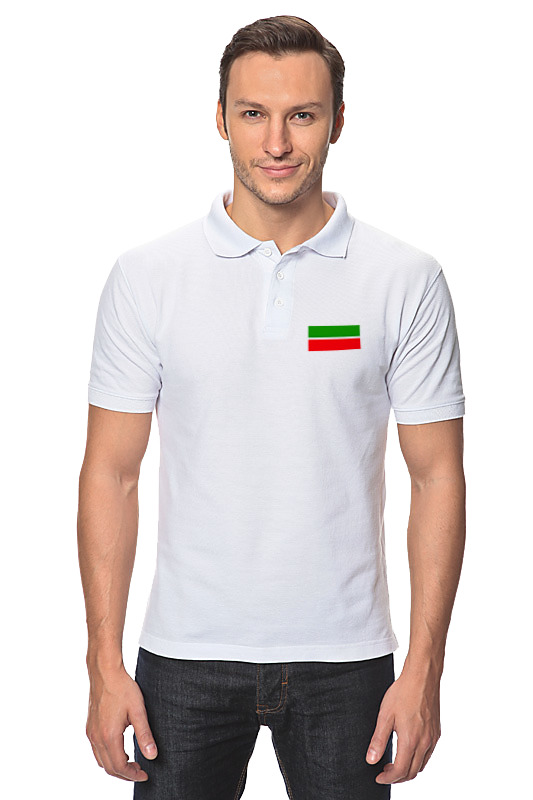 Printio Рубашка Поло Флаг татарстана