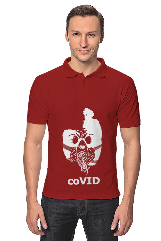 Printio Рубашка Поло Covid printio рубашка поло солнце