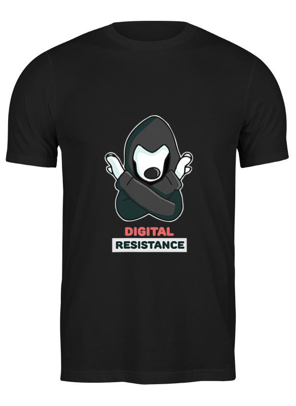 Printio Футболка классическая Цифровое сопротивление
