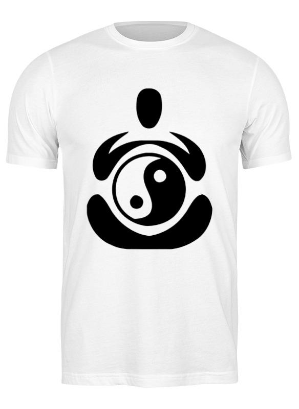 Printio Футболка классическая Йога (инь янь)