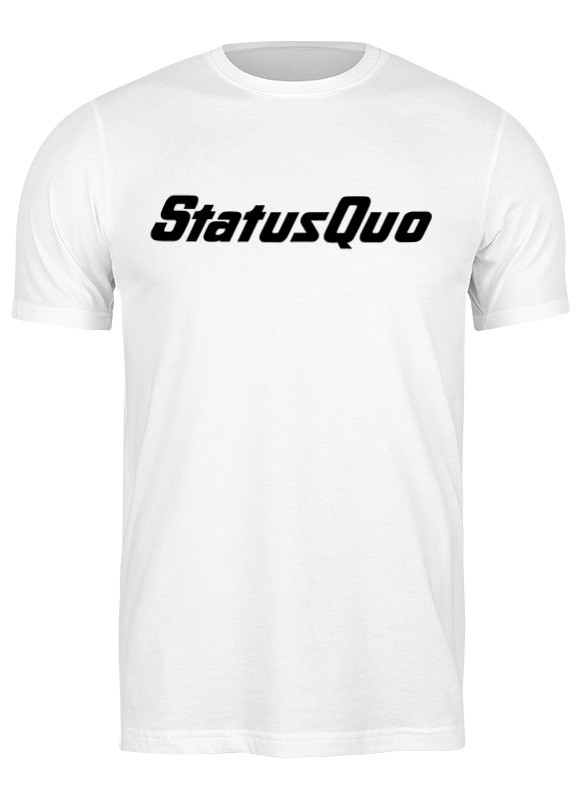 Printio Футболка классическая Рок-группа status quo status quo status quo piledriver
