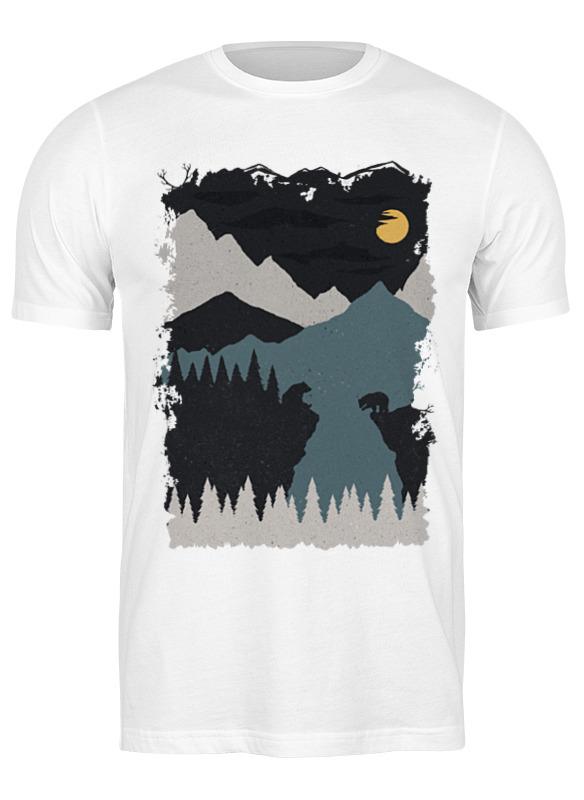 Printio Футболка классическая Mountains and bears