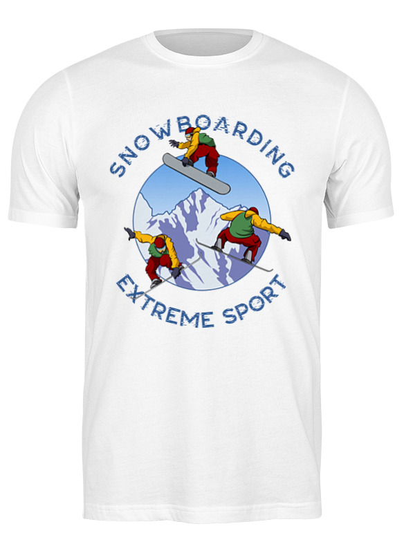 Printio Футболка классическая Сноубординг
