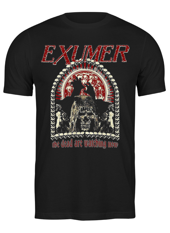 Printio Футболка классическая Exumer (thrash metal band) printio детская футболка классическая унисекс exumer thrash metal band