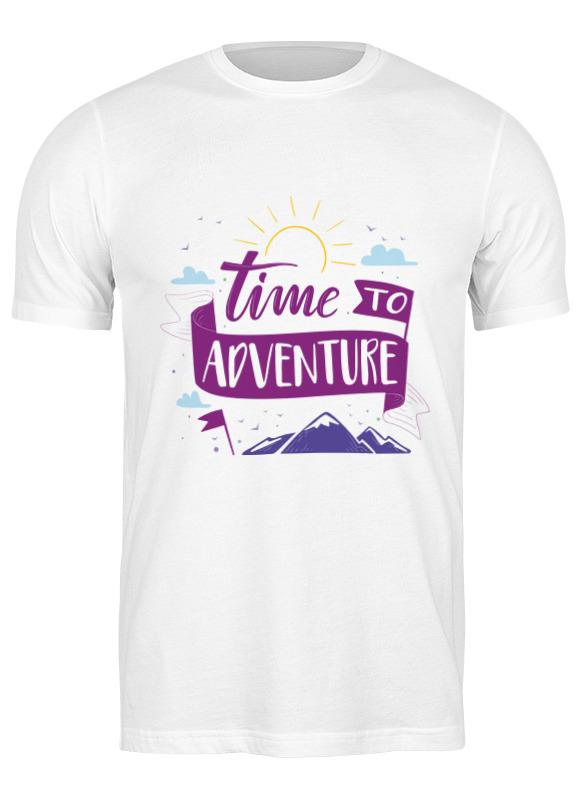 Printio Футболка классическая Time to adventure фото