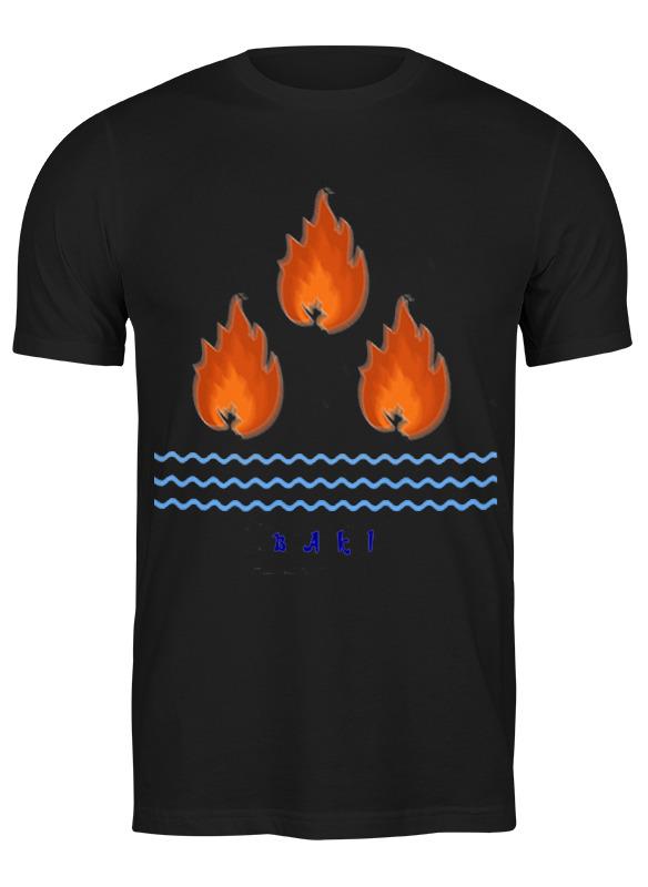 Printio Футболка классическая Страна огней. азербайджан, эмблема баку