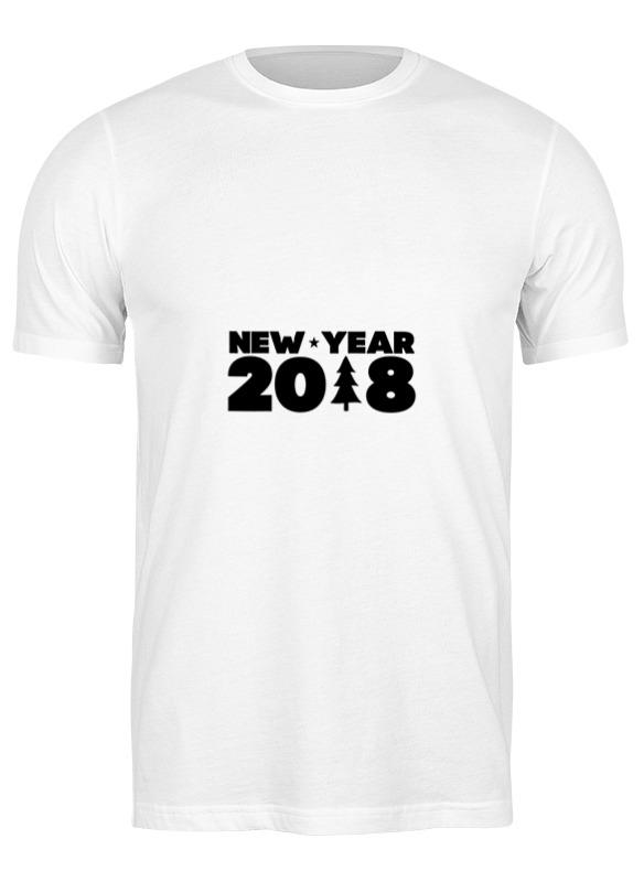 Printio Футболка классическая Новый год 2018