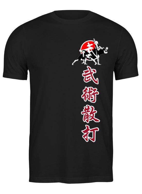 Printio Футболка классическая Wushu sanda иероглифы