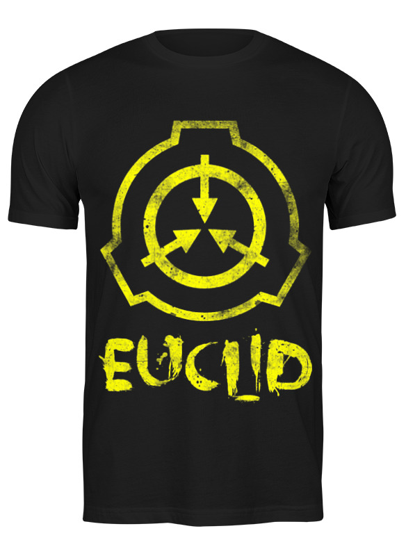Printio Футболка классическая Scp, euclid printio плакат a3 29 7×42 scp euclid