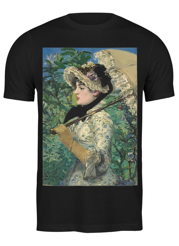 Printio Футболка классическая Жанна (весна) (картина эдуарда мане)