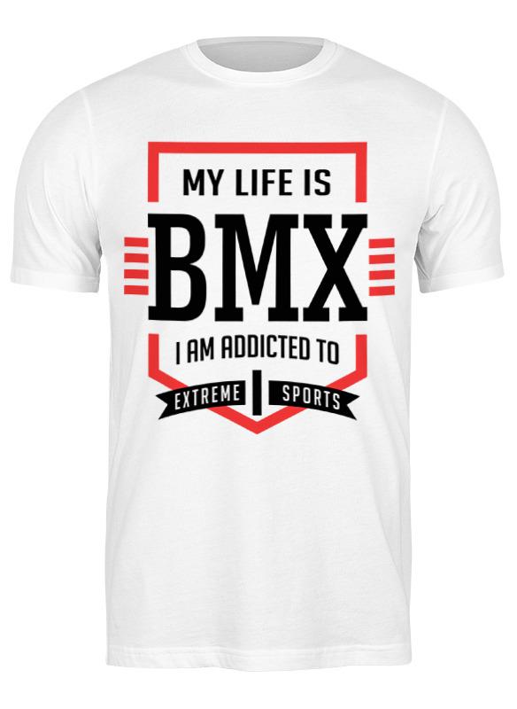 Printio Футболка классическая Bmx - моя жизнь