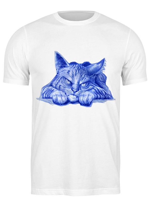 Printio Футболка классическая Задумчивый кот
