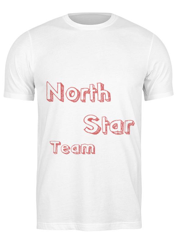 майка классическая printio north star flava Printio Футболка классическая North star team