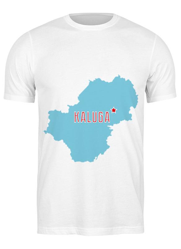 Printio Футболка классическая Калужская область. калуга