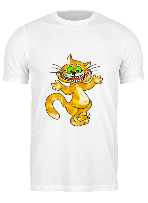 Фото - Printio Футболка классическая Улыбка чеширского кота ультратонкая защитная накладка soft touch для samsung galaxy a32 с принтом улыбка чеширского кота черная