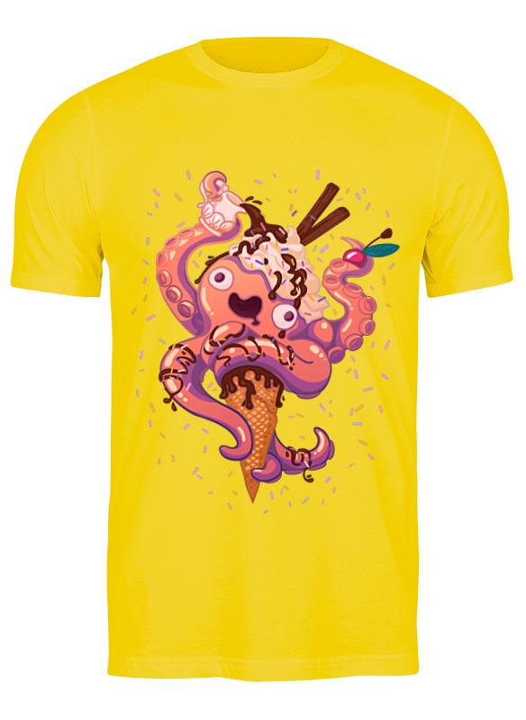 printio детская футболка классическая унисекс крик кальмара Printio Футболка классическая Крик кальмара