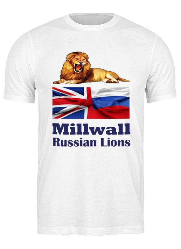 Printio Футболка классическая Millwall russian lions