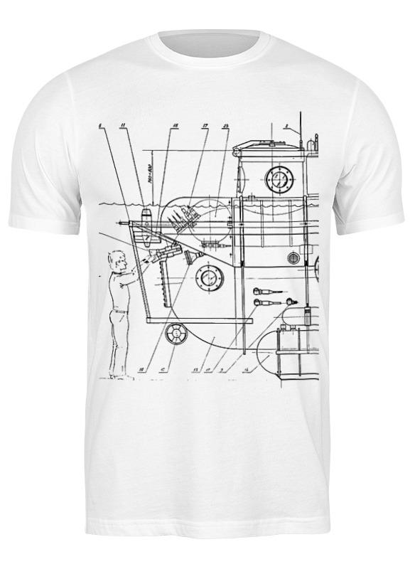 Printio Футболка классическая Чертеж спускаемого аппарата