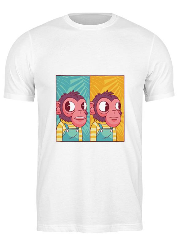 Printio Футболка классическая Мем с обезьяной