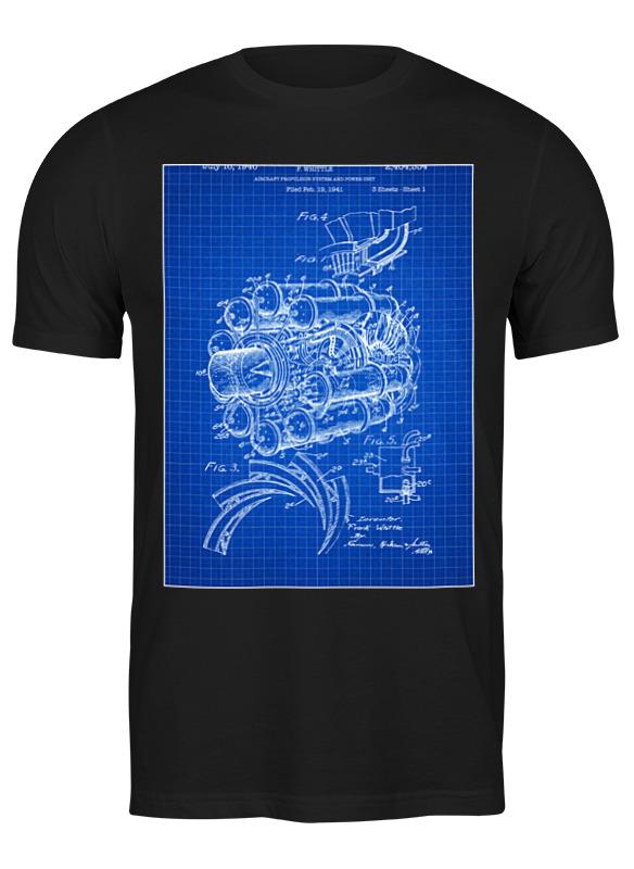 Printio Футболка классическая Двигатель самолета
